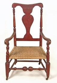 Lot 148: 18th c. Queen Anne Armchair