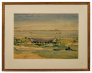 Lot 152: Two Watercolors