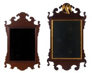 Lot 156: Two Early 19th c. Chippendale Mirrors