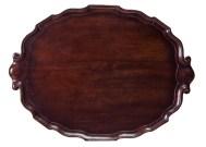 Lot 201: 18th c. Tea Tray