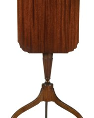 Lot 208: Tip-Top Mahogany Candlestand