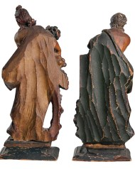 Lot 213: Pair of Continental Carvings