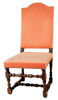 Lot 215: 18th c. English Side Chair