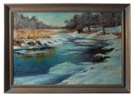 Lot 226: Landscape Oil by Joreen Benbenek