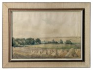 Lot 236: Watercolor with Pencil