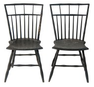 Lot 241: Windsor Side Chairs