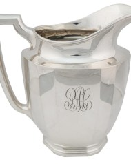 Lot 43: Sterling Silver Pitcher