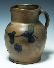 Lot 5: Redware Pitcher