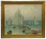 Lot 62: Oil by John F. Carlson