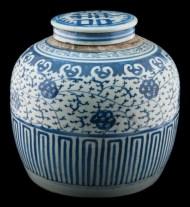 Lot 76: Chinese Ginger Jar