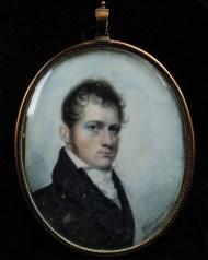 miniature, watercolor, portrait, hingham