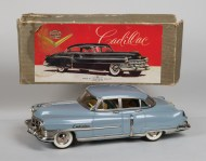 painted, tin, toy, cadillac, car