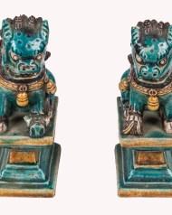 asian, stoneware, dogs, soapstone, lion