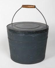 pine, lidded, pail
