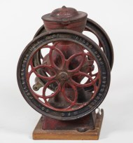 coffee, grinder, cast iron