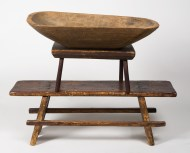 footstools, maple, trencher