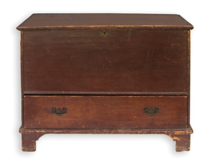 New England, blanket, chest, pine