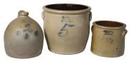 stoneware, jugs