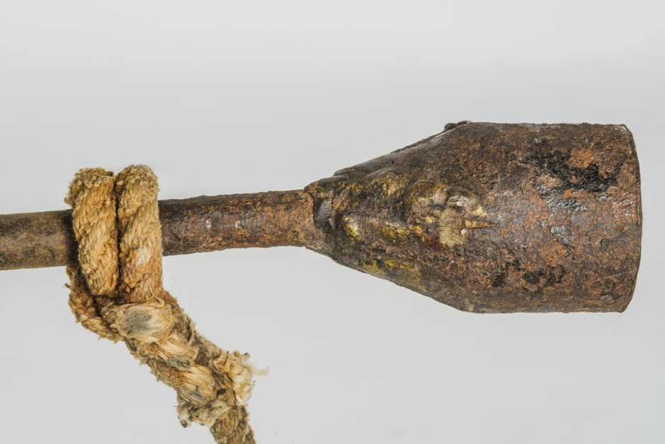 Rare 19th C. Grommet Iron Whaling Harpoon
