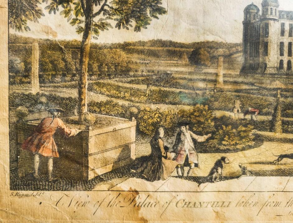 Framed Prints of European Gardens