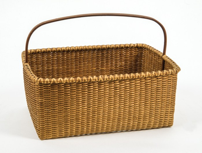 20th C. Shaker Style Basket