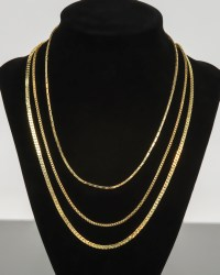 Three Gold Necklaces