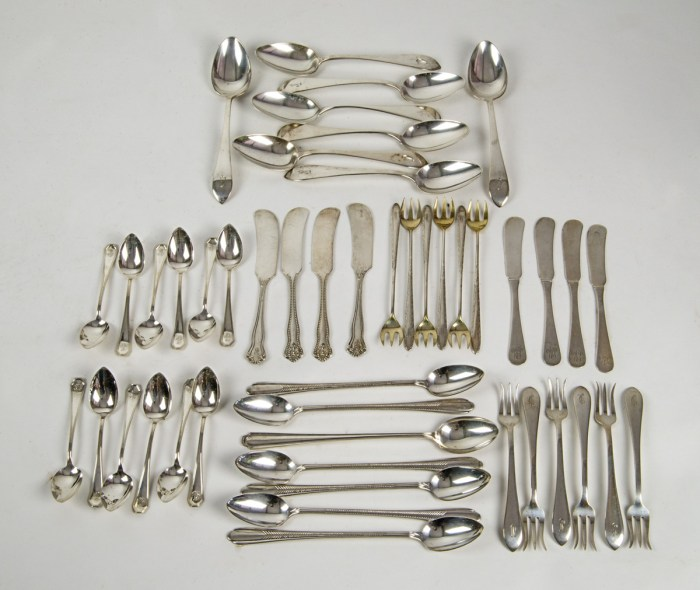 Mixed Sterling Flatware