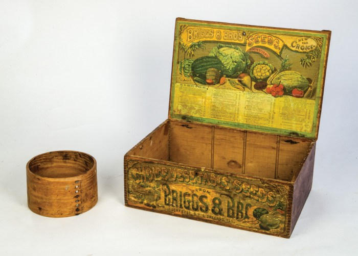 Seed Box, And Dry Measure