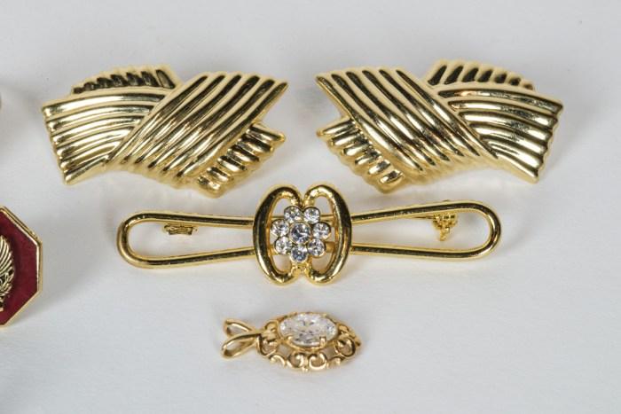 Rings, Earrings, Pins, Pendant