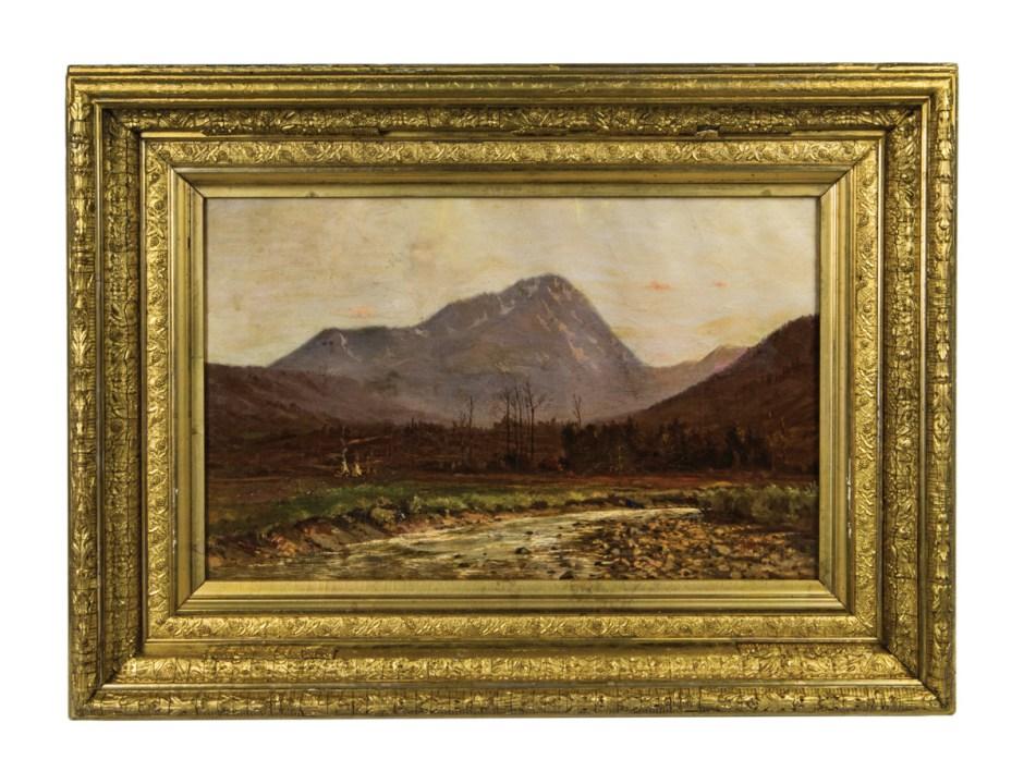 19th C. Western Landscape