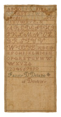 Long Needlework Sampler