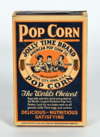 Popcorn Box, Six Advertising Cards