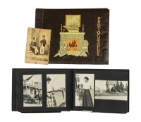 Two Early 20th C. Photo Albums