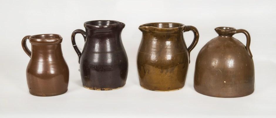 Stoneware Pitchers and Jug