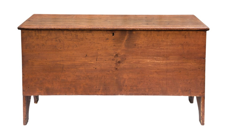 Early 19th C. Blanket Chest