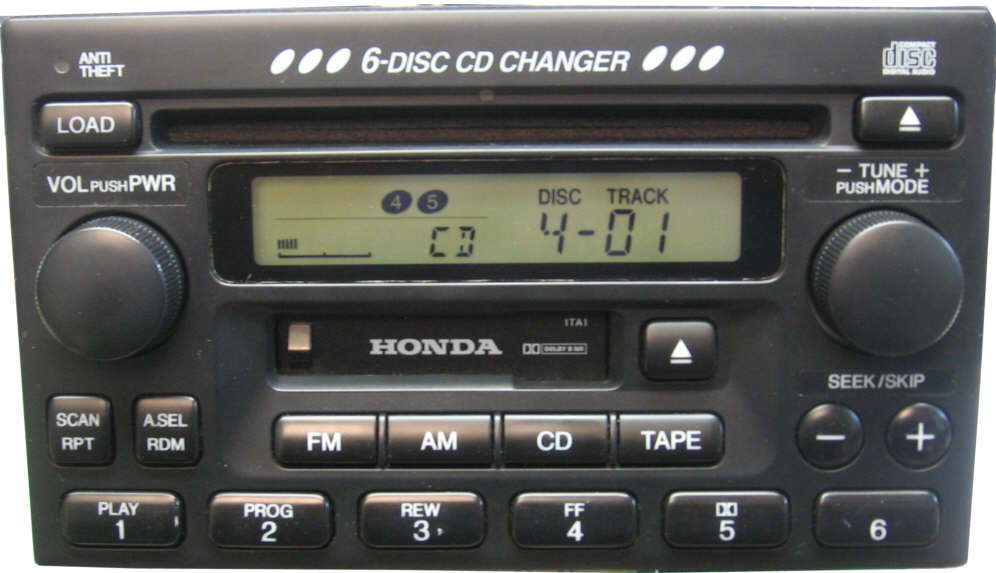 2003 Honda Civic Cd Player Wiring Diagram Honda Accord Car Stereo Cd Changer Repair And Or Add An
