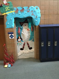Door Decorating Contest / High School Door Photos