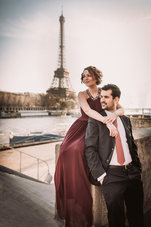Will Marsala Preboda París Torre Eiffel Sesión de Novios 28