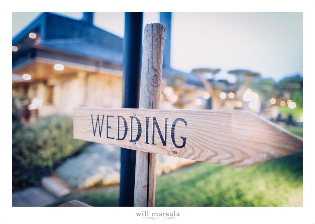 cartel de boda en la finca de madrid la romanee