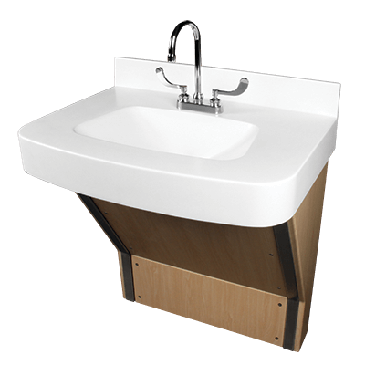 bariatric sink solid surface sink