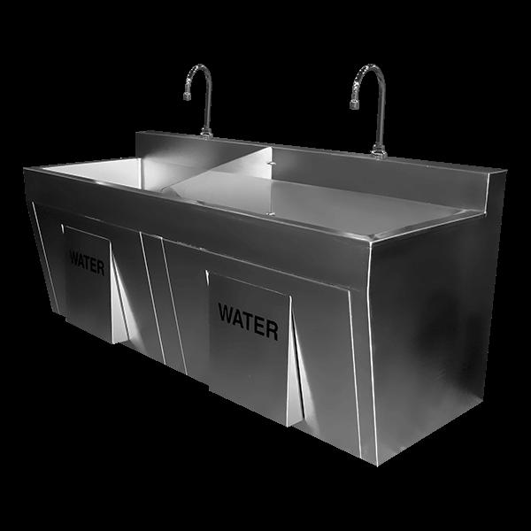 series economy surgical scrub sink