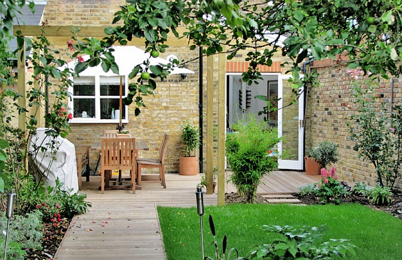 Ideas For Your Terraced House Garden 4 Celebrating British