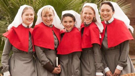 Anzac-Girls-group