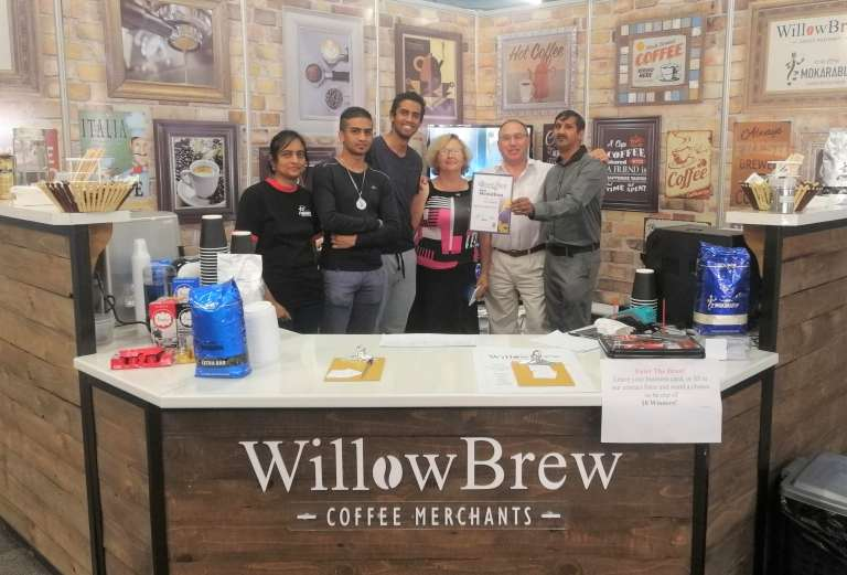 The WillowBrew Team at the Royal Show 2019
