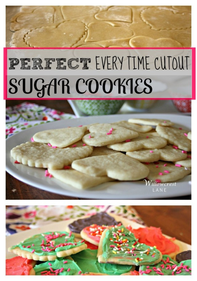 Perfect Every Time Sugar Cookie Cutouts