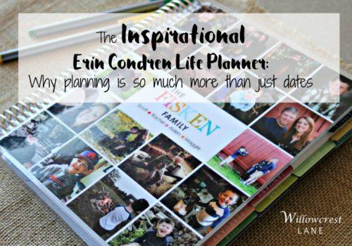 Willowcrest Lane: Erin Condren Planner