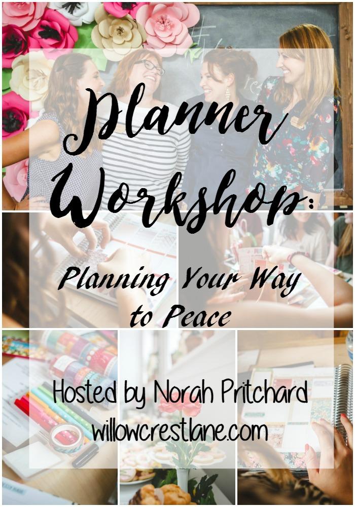 willowcrest lane planner workshop