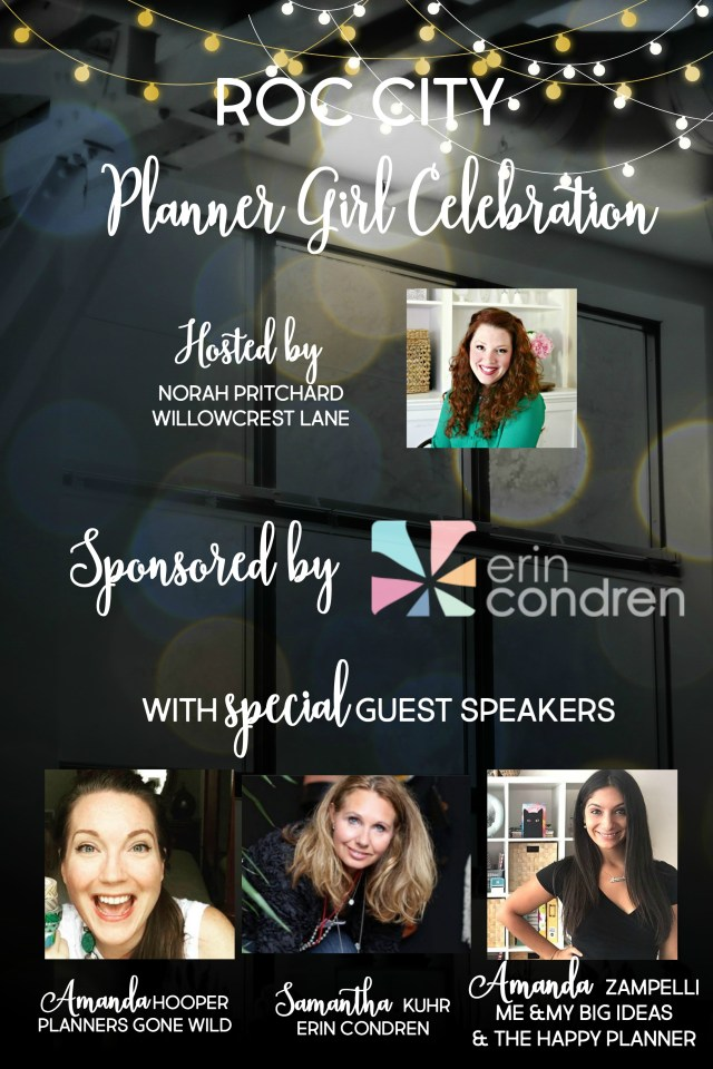 Willowcrest Lane Planner Girl Celebration: an evening celebrating planning, fun, and friends