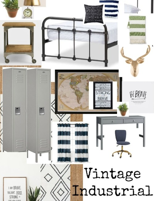 Vintage Industrial Bedroom – Desig...