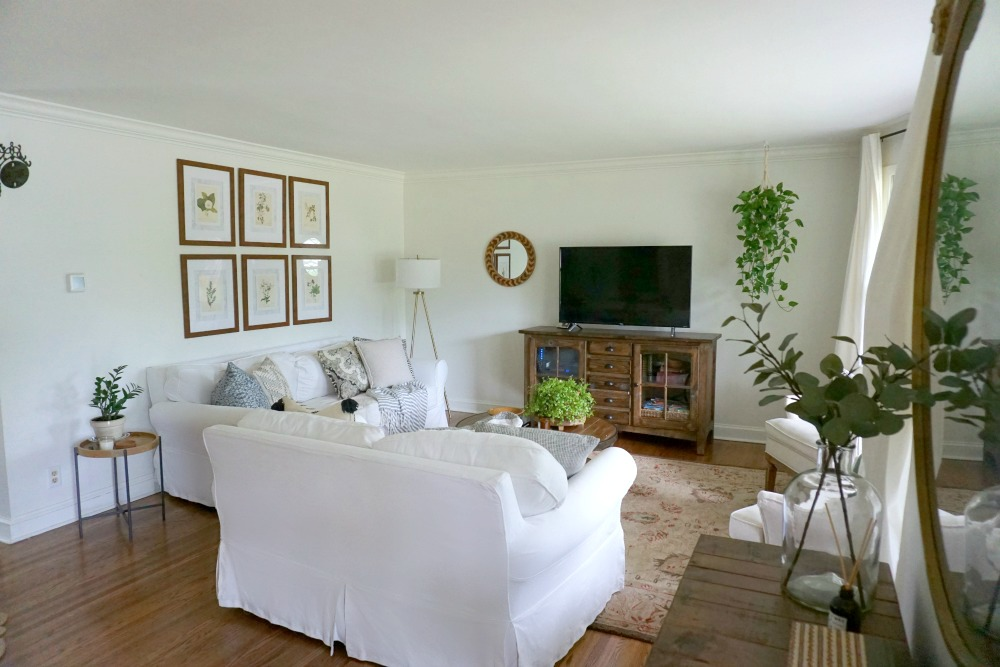 Our Updated Classic Living Room - Norah Pritchard | Willowcrest Lane